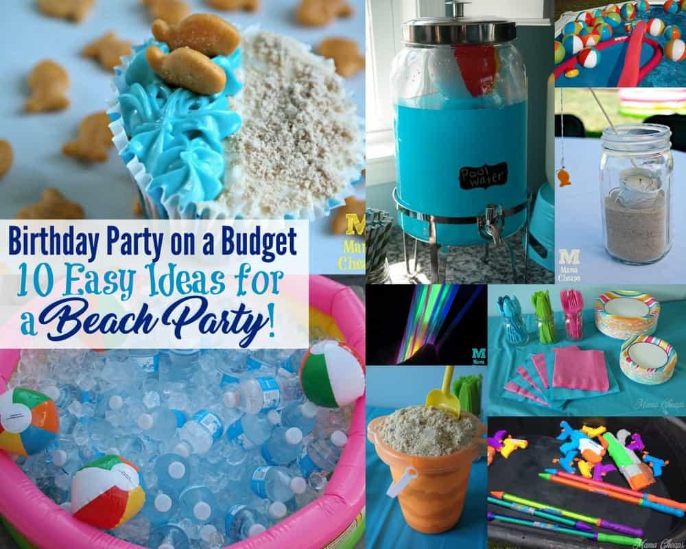 Ideas For A Beach Party  10 Easy Ideas for Throwing a Fun Beach Party