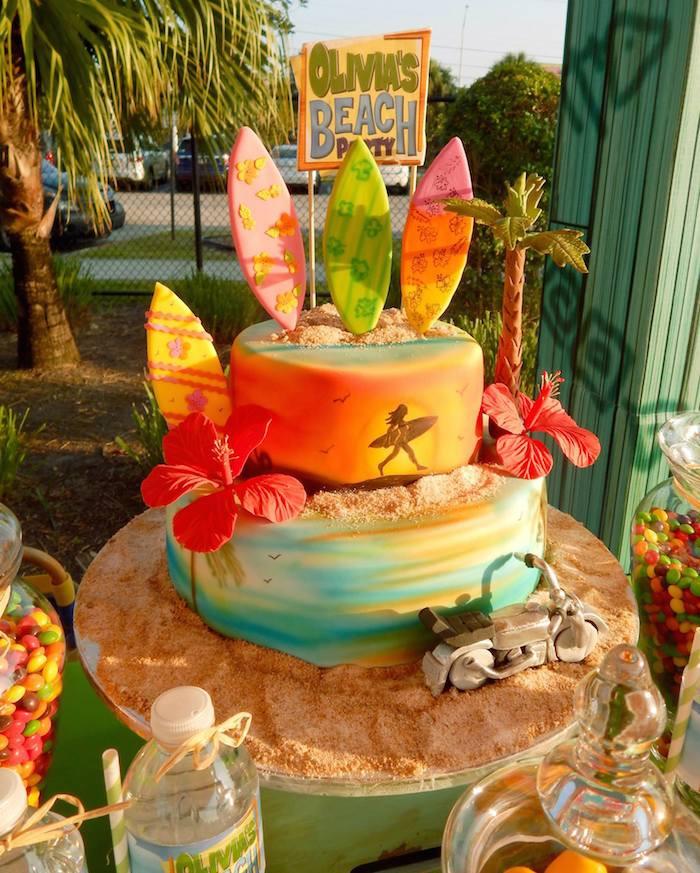 Ideas For A Beach Party  Kara s Party Ideas Disney s Teen Beach Movie Themed