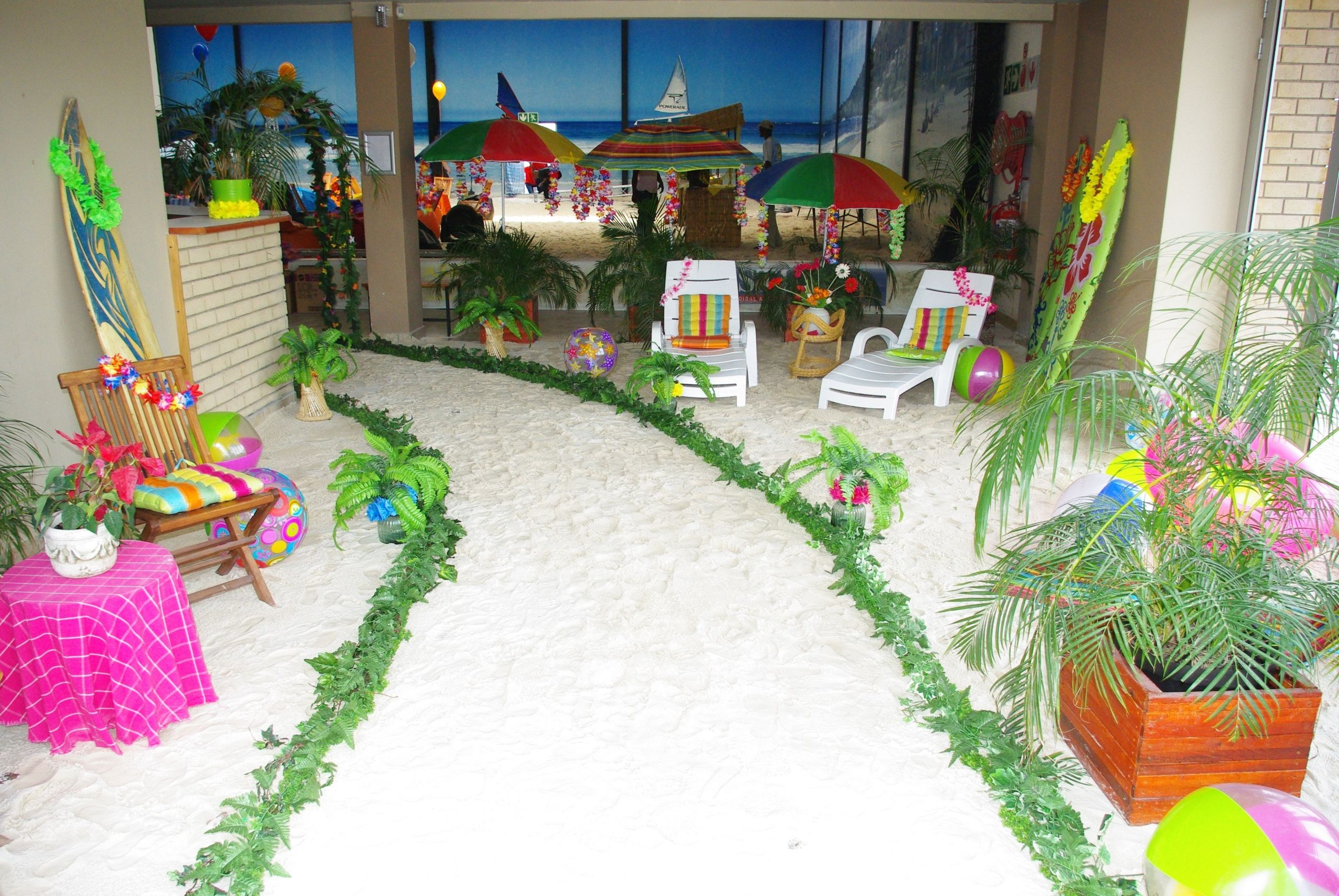 Ideas For A Beach Party  Year end party example