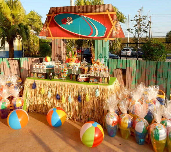 Ideas For A Beach Party  11 Best Girls Summer Party Themes Pretty My Party