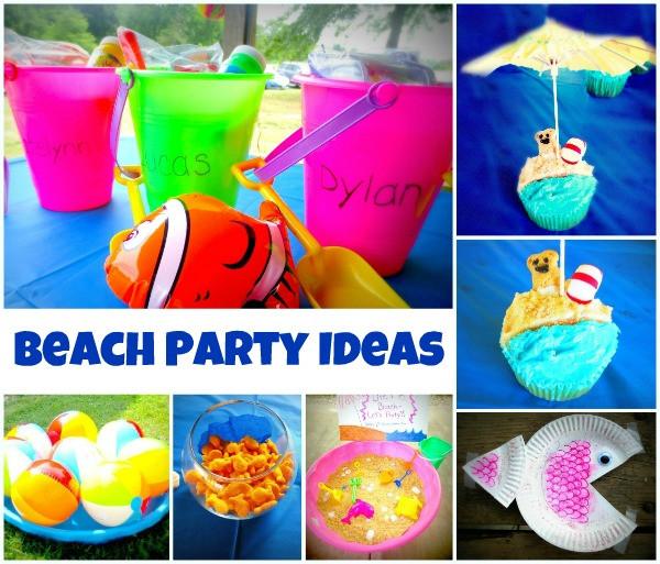Ideas For A Beach Party  Beach Party Ideas