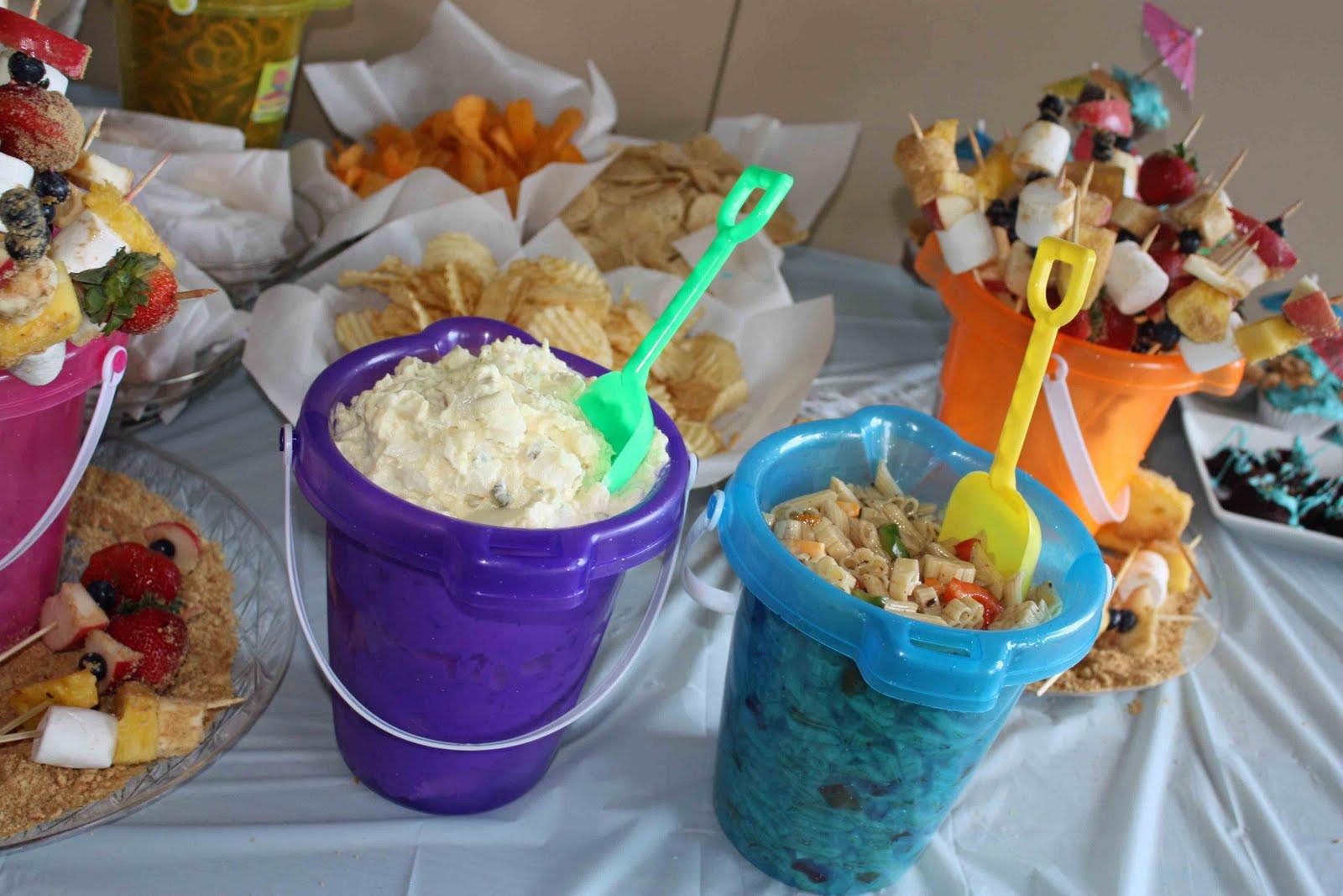 Ideas For A Beach Party  Beach Party Theme Food Ideas