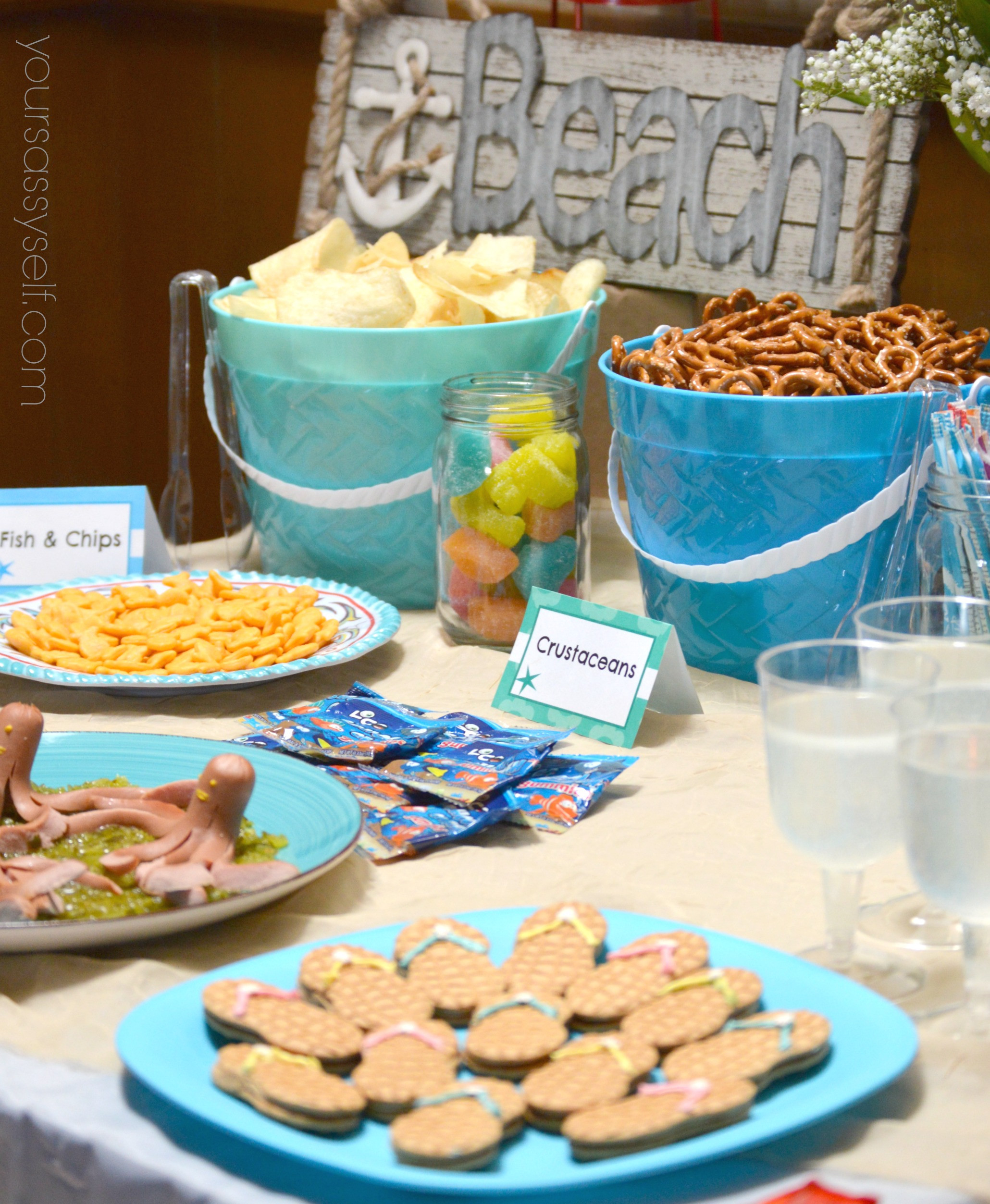 Ideas For A Beach Party  Fun Birthday Beach Party Ideas For Any Age Your Sassy Self