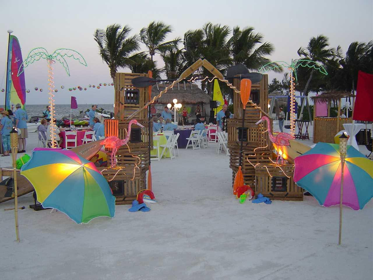Ideas For A Beach Party  Birthday Parties At The Beach