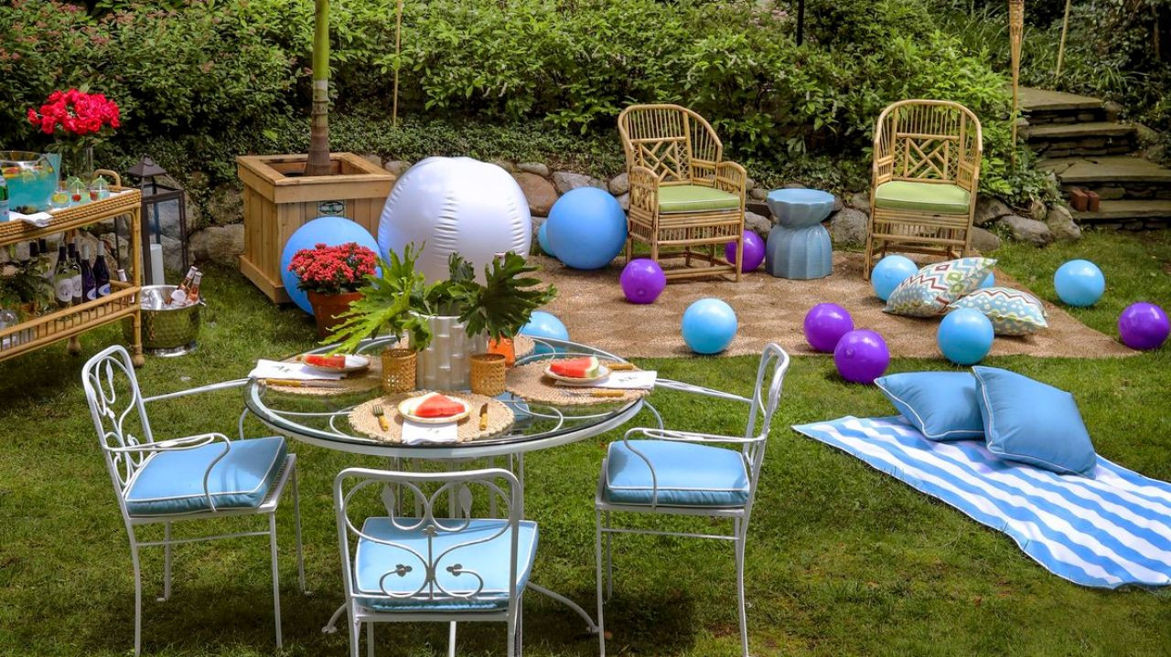Ideas For A Beach Party  Beach themed party tips ideas from interior designers