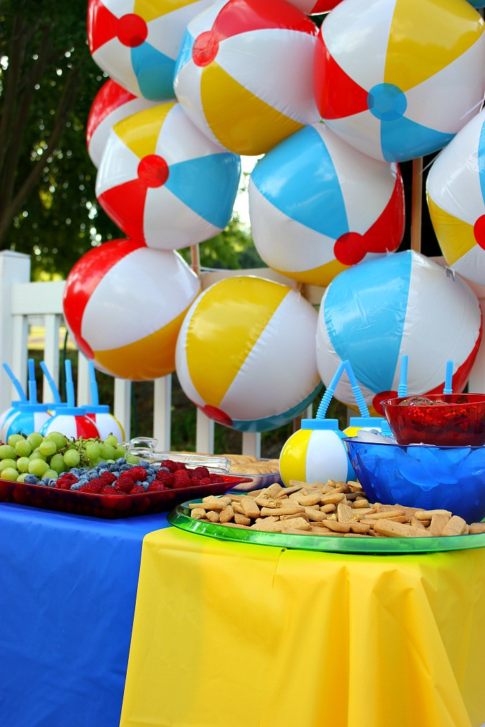 Ideas For A Beach Party  The Creative Collection Link Party