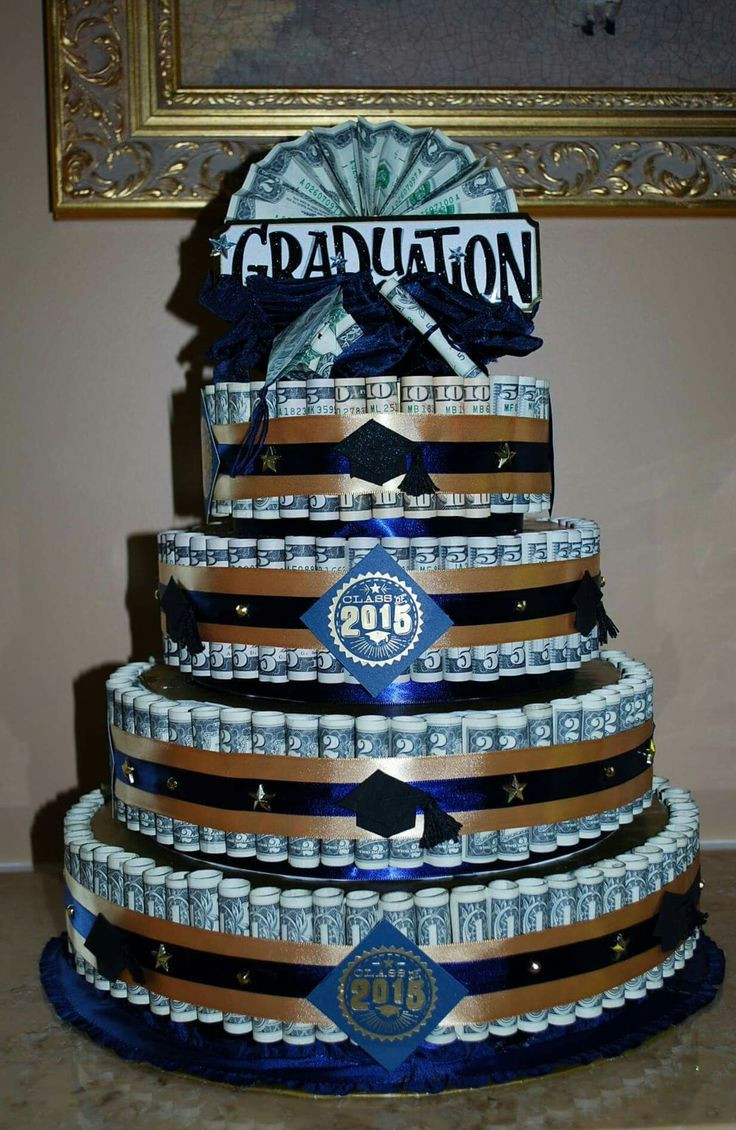 Ideas For A High School Graduation Gift  10 Money For College Graduation Cakes Graduation