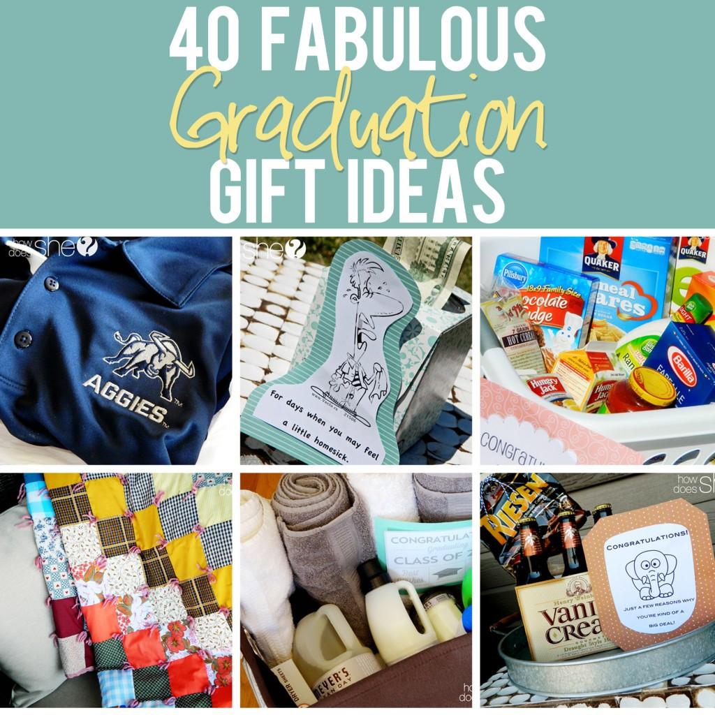 Ideas For A High School Graduation Gift  40 Fabulous Graduation Gift Ideas The best list out there