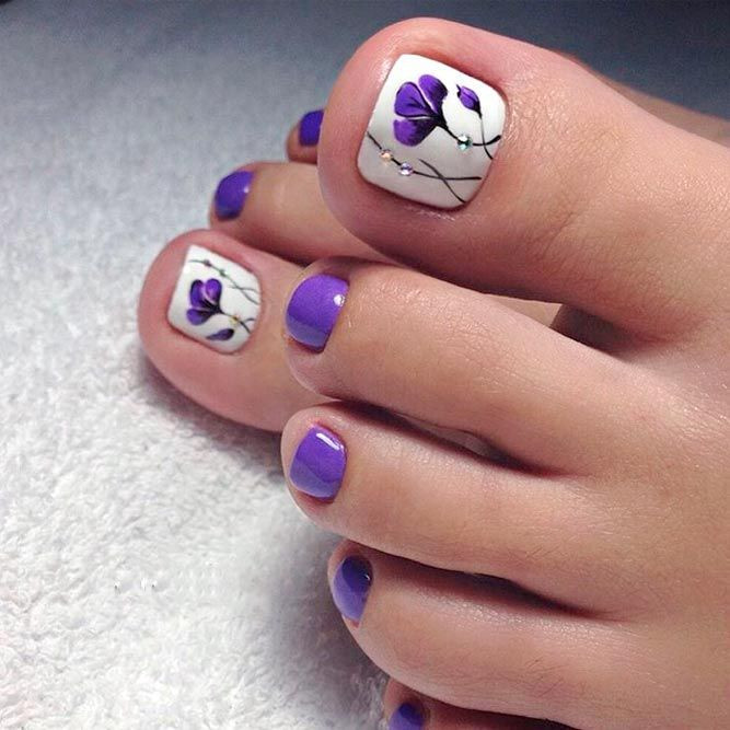 Images Of Toe Nail Designs  How to Get Your Feet Ready for Summer 50 Adorable Toe