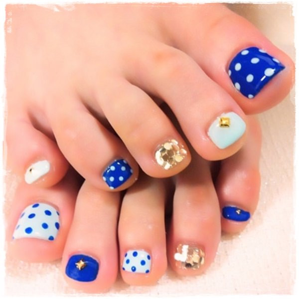 Images Of Toe Nail Designs  45 Childishly Easy Toe Nail Designs 2015