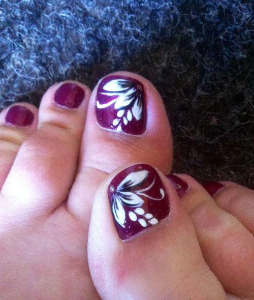 Images Of Toe Nail Designs  40 Creative Toe Nail Art designs and ideas