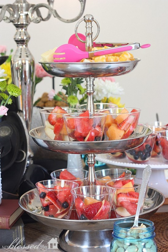 Inexpensive Graduation Party Food Ideas  Graduation Party With A Saddle The Table