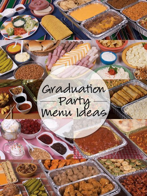 Inexpensive Graduation Party Food Ideas  Find amazing menu ideas from GFS Marketplace online now