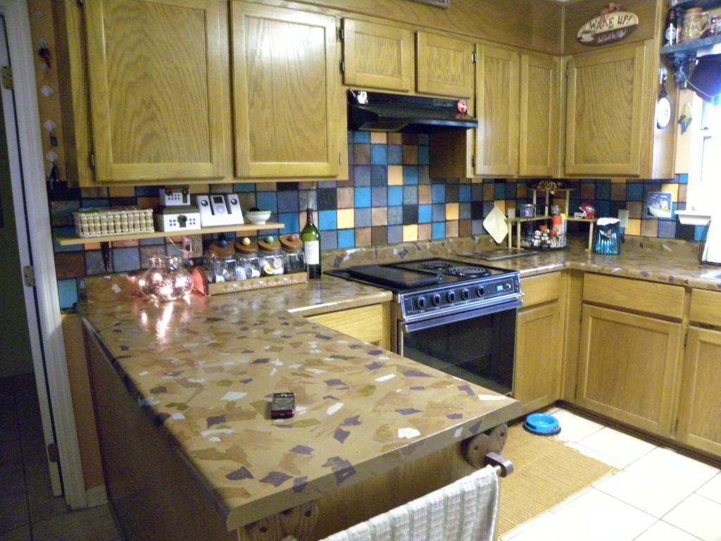 Inexpensive Kitchen Counter  Easy & Inexpensive DIY Kitchen Countertops