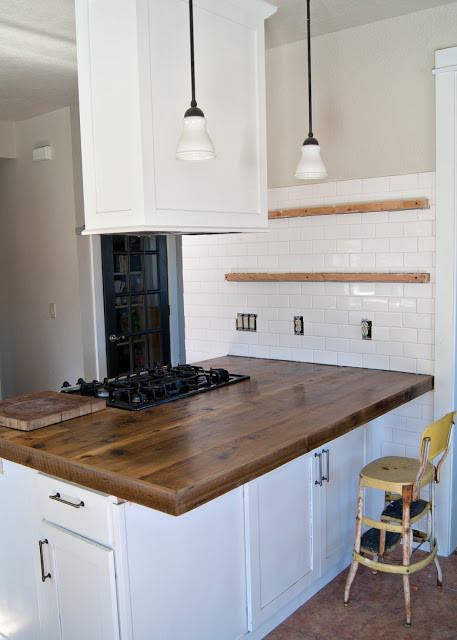 Inexpensive Kitchen Counter  Remodelaholic