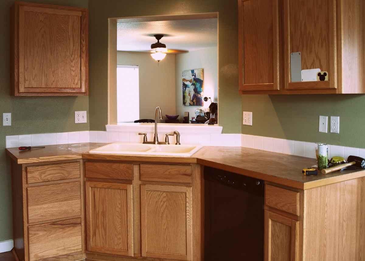 Inexpensive Kitchen Counter  Cheap Countertop Ideas Kitchen