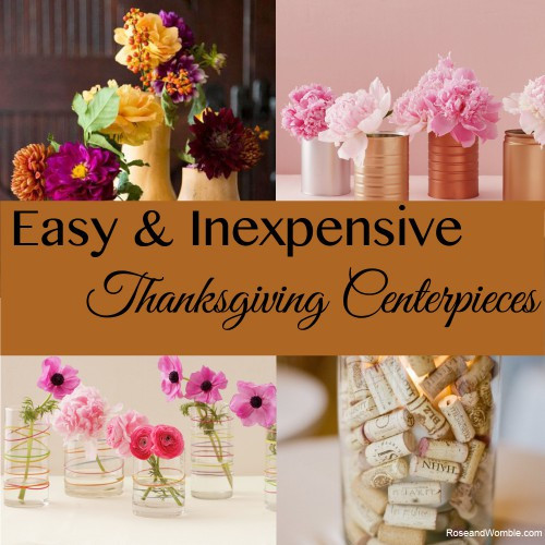 Inexpensive Thanksgiving Table Decorations  Easy and Inexpensive Centerpieces for Your Thanksgiving