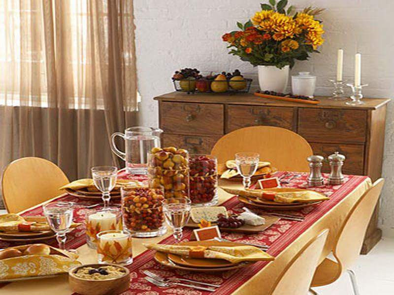 Inexpensive Thanksgiving Table Decorations  85 Expensive to Inexpensive Thanksgiving Table Decoration