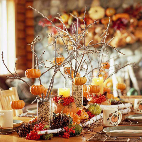 Inexpensive Thanksgiving Table Decorations  Ideas for Easy Inexpensive & Crafty Table Decorations for