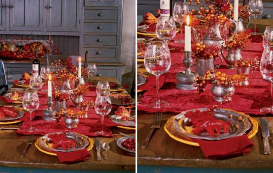 Inexpensive Thanksgiving Table Decorations  5 Quick and Cheap Thanksgiving Decorating Ideas • The