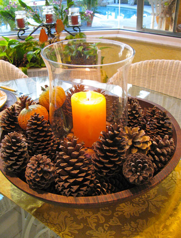 Inexpensive Thanksgiving Table Decorations  31 Stylish Thanksgiving Table Decor Ideas Easyday