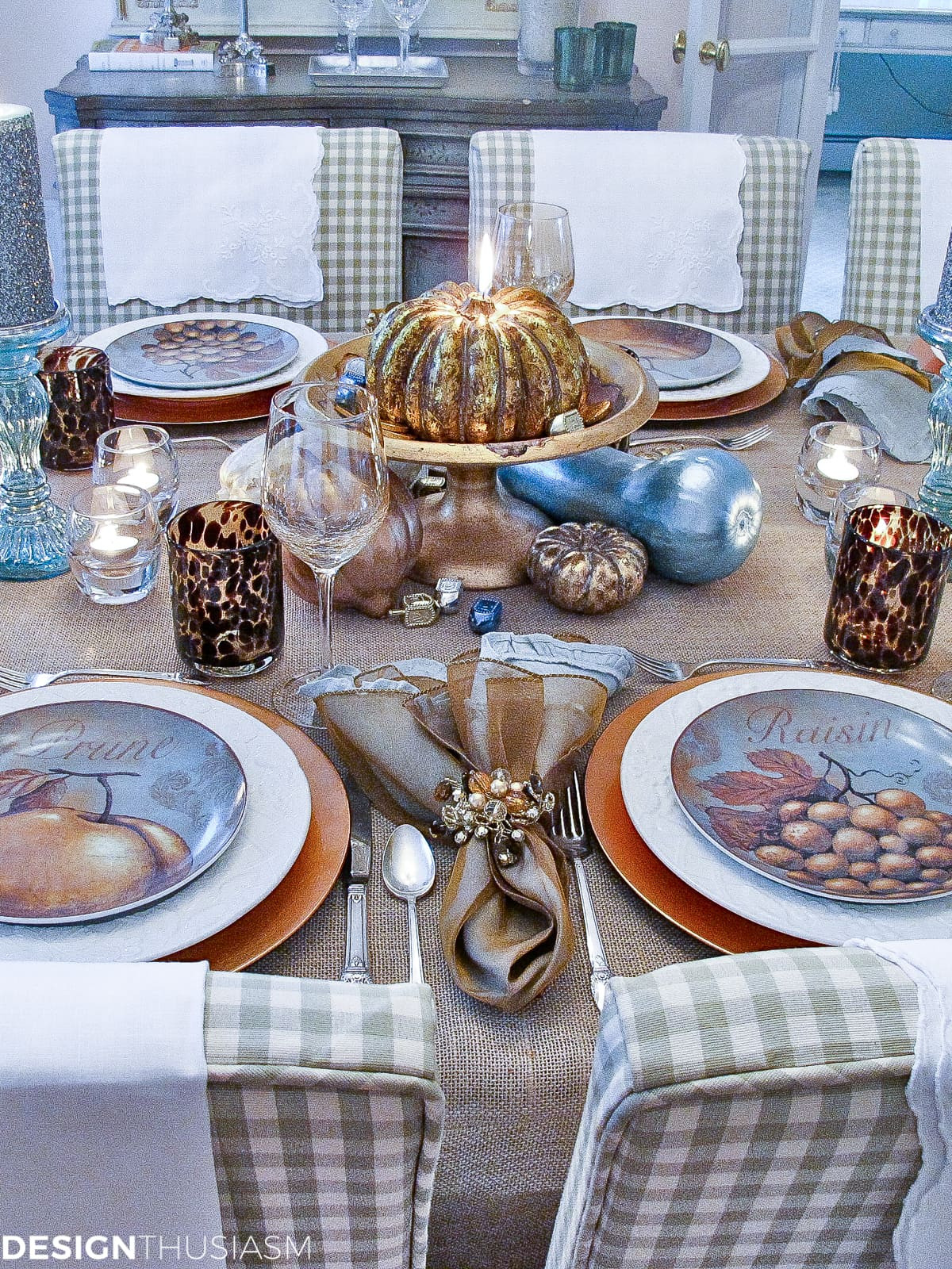 Inexpensive Thanksgiving Table Decorations  Gourd Crafts Elegant Inexpensive Thanksgiving Table