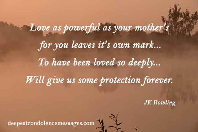Inspirational Quotes Loss Mother  31 Inspirational Quotes For Loss A Father Richi Quote
