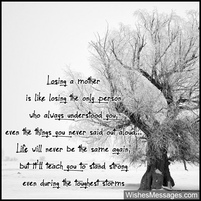 Inspirational Quotes Loss Mother  Condolence Messages for Mother's Death Sympathy Quotes