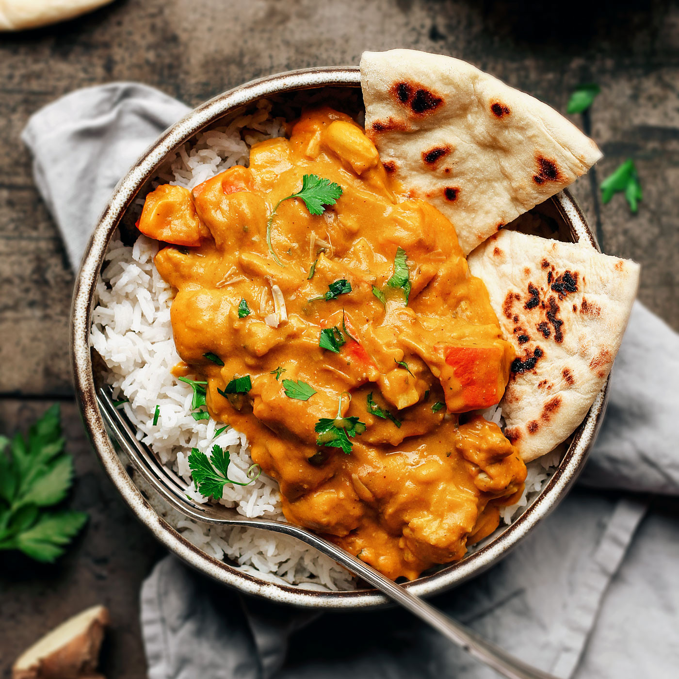 Jackfruit Recipes Indian  Roasted Pumpkin Jackfruit Curry Full of Plants