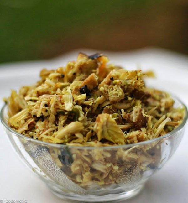Jackfruit Recipes Indian  Jackfruit Stir Fry Recipe South Indian Raw Jack fruit