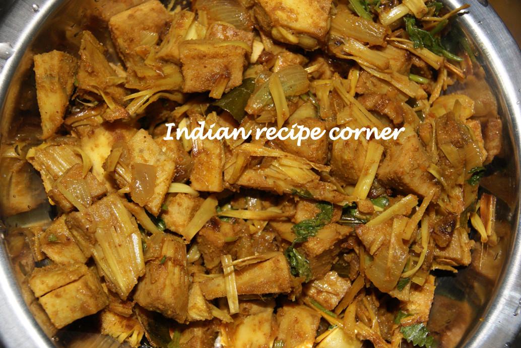 Jackfruit Recipes Indian  Cheeni pala unripe Jackfruit curry