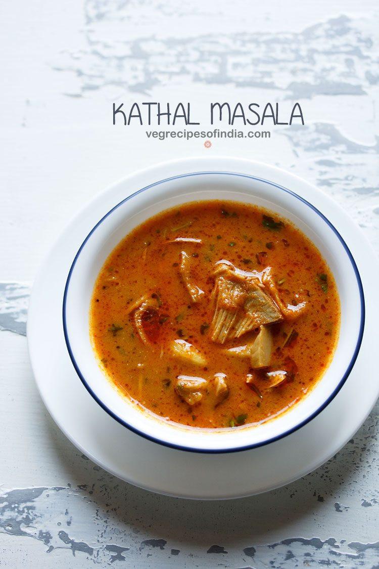 Jackfruit Recipes Indian  kathal recipe raw jackfruit curry
