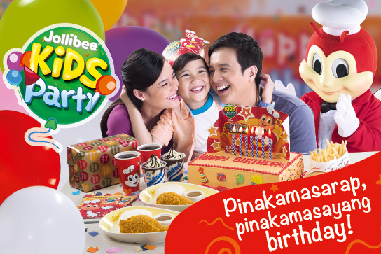Jollibee Kids Party  2018 Jollibee Party Packages