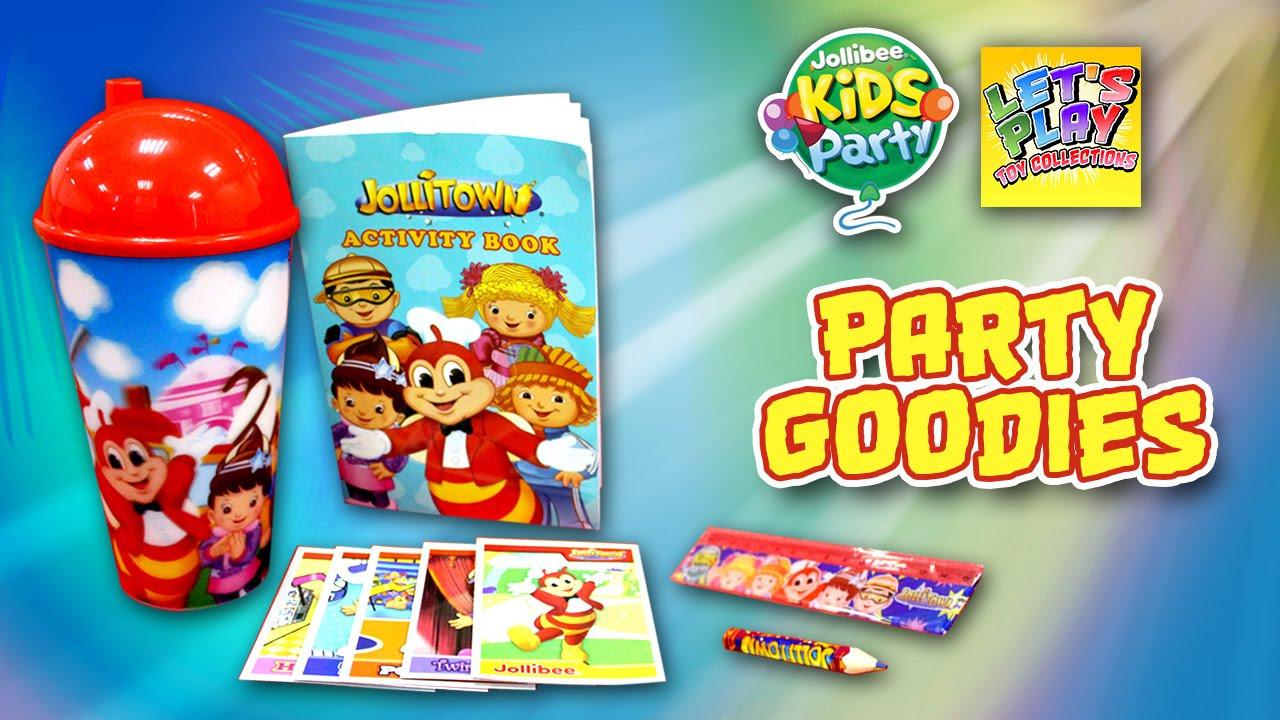 Jollibee Kids Party  Jollibee Kids Party Jollitown Loot Bag Goo s