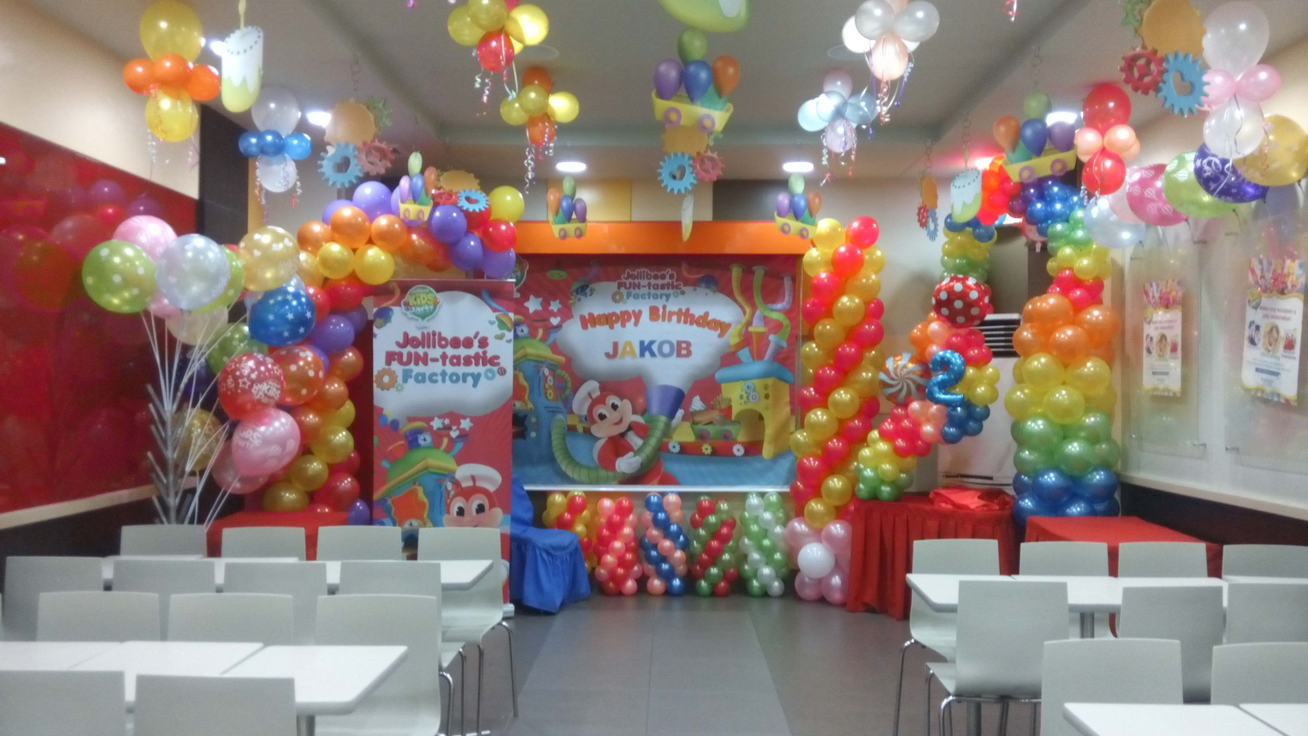 Jollibee Kids Party  jakob's 2nd birthday celebration jollibee SM Marikina