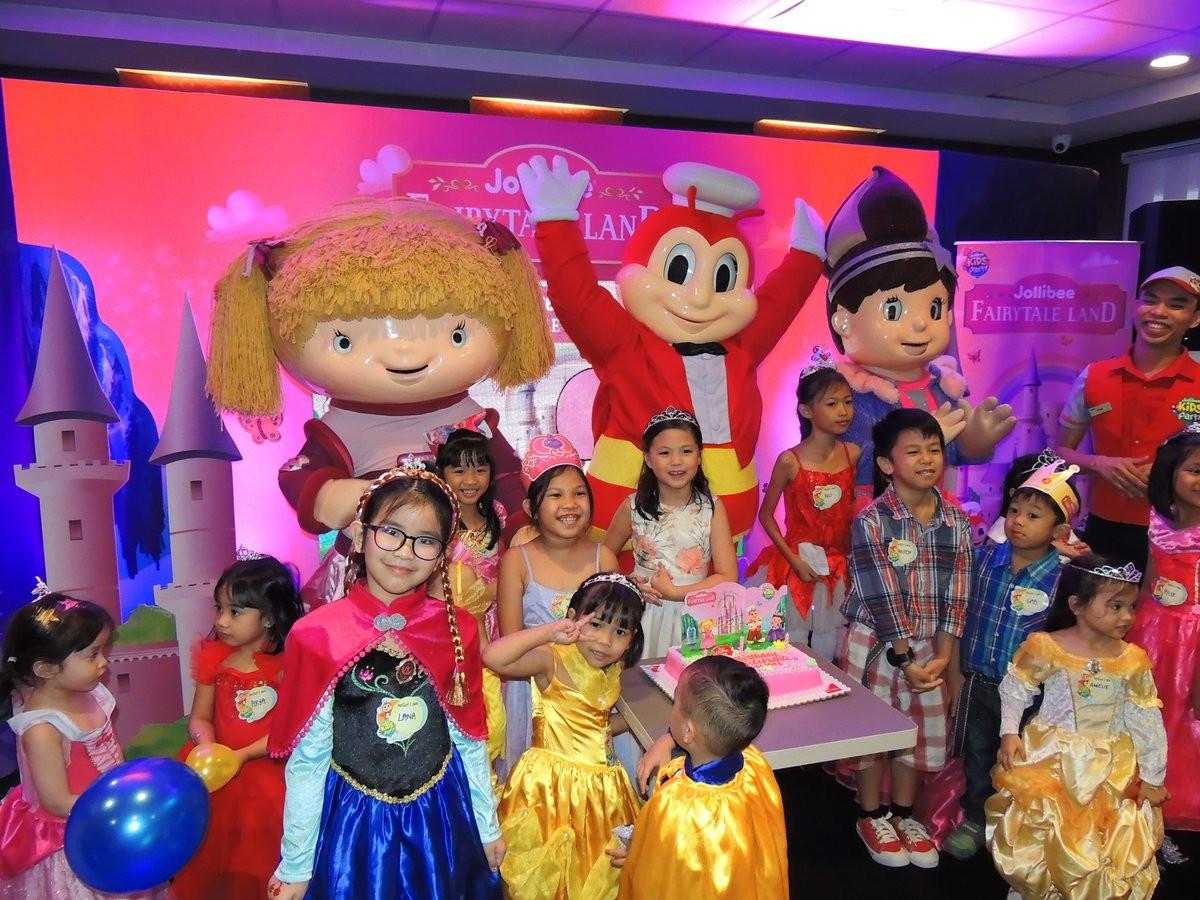 Jollibee Kids Party  Jollibee Launches Fairytale Land Kids Party Theme