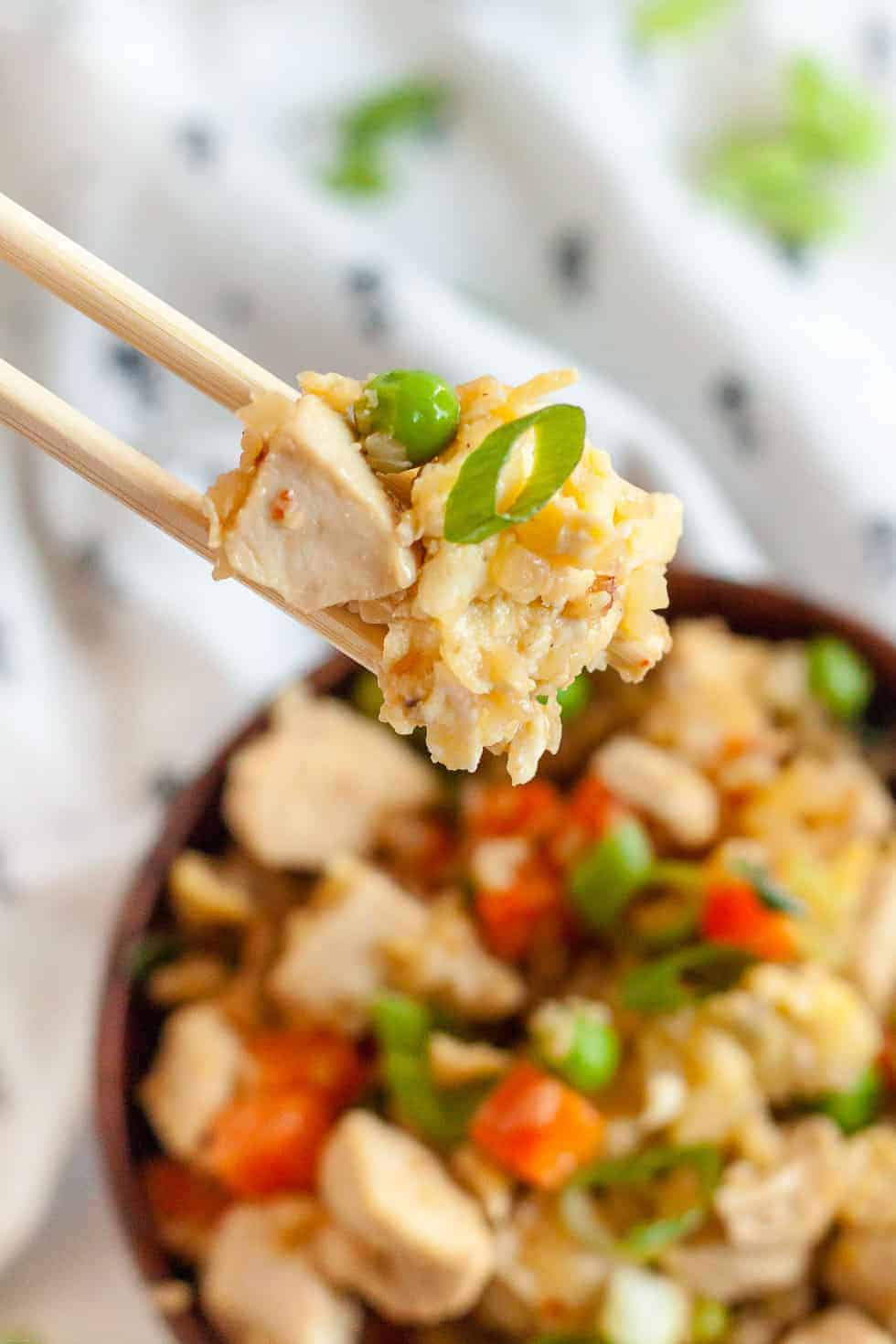 Keto Chicken Fried Rice  7 Keto Takeout Copycat Recipes That Taste Like the Real Thing