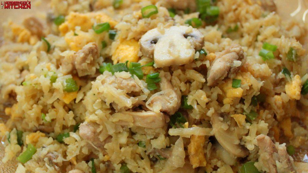 Keto Chicken Fried Rice  Keto Chicken Fried Rice Headbanger s Kitchen Keto All