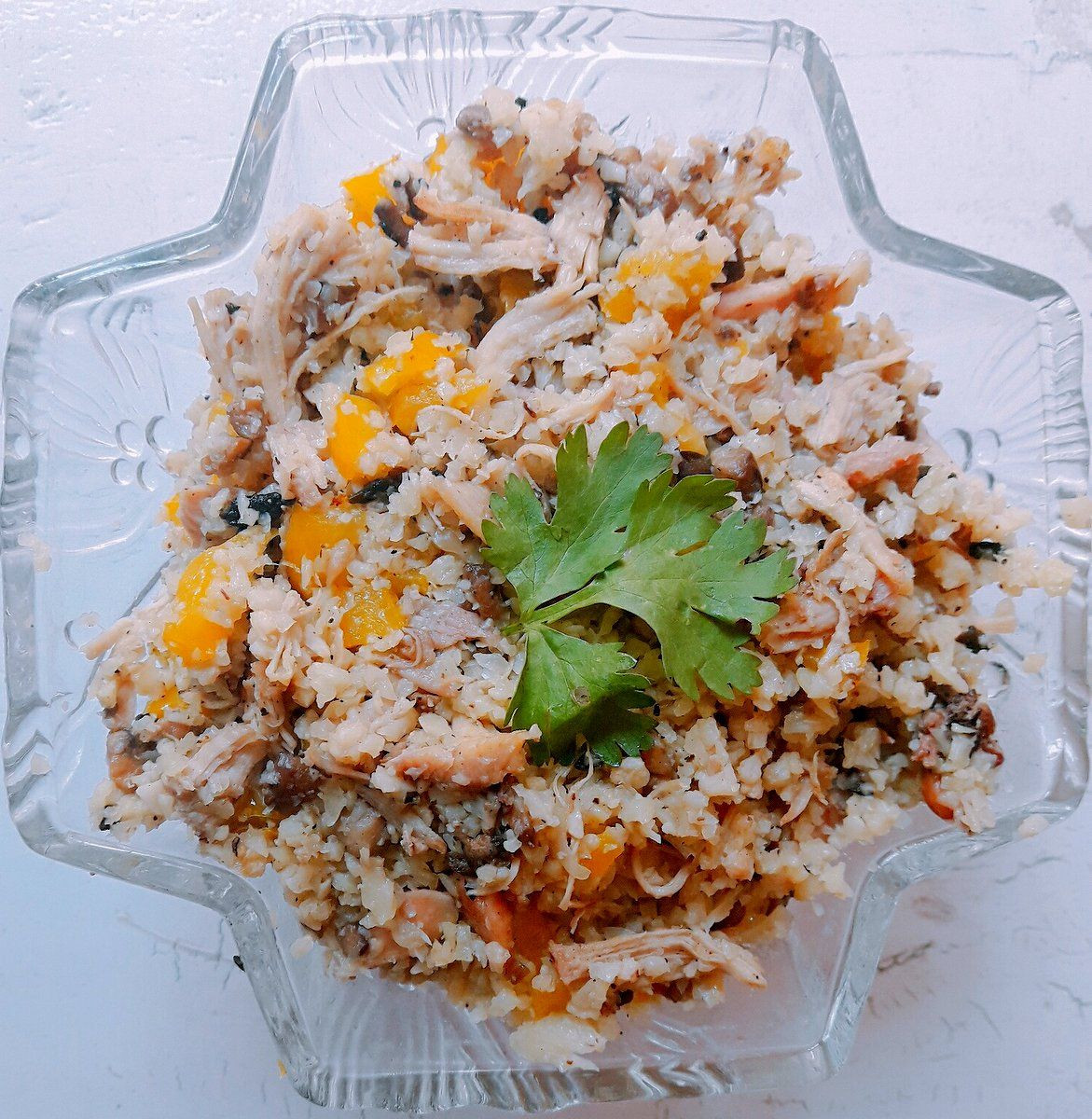 Keto Chicken Fried Rice  Keto Chicken Fried Rice