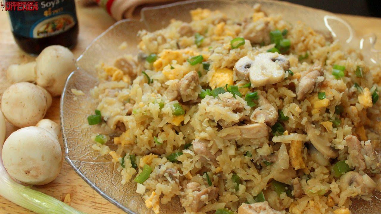 Keto Chicken Fried Rice  Keto Chicken Fried Rice Keto Recipes