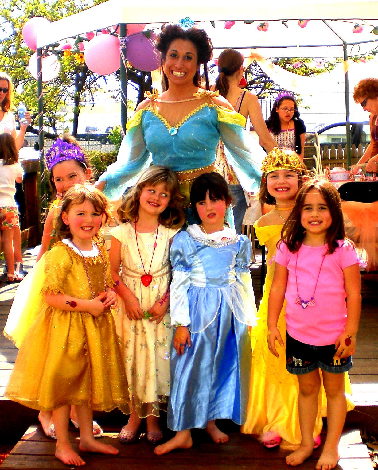 Kids Birthday Party South Jersey  Princess Party Characters Spa Parties NJ 856 396 9595
