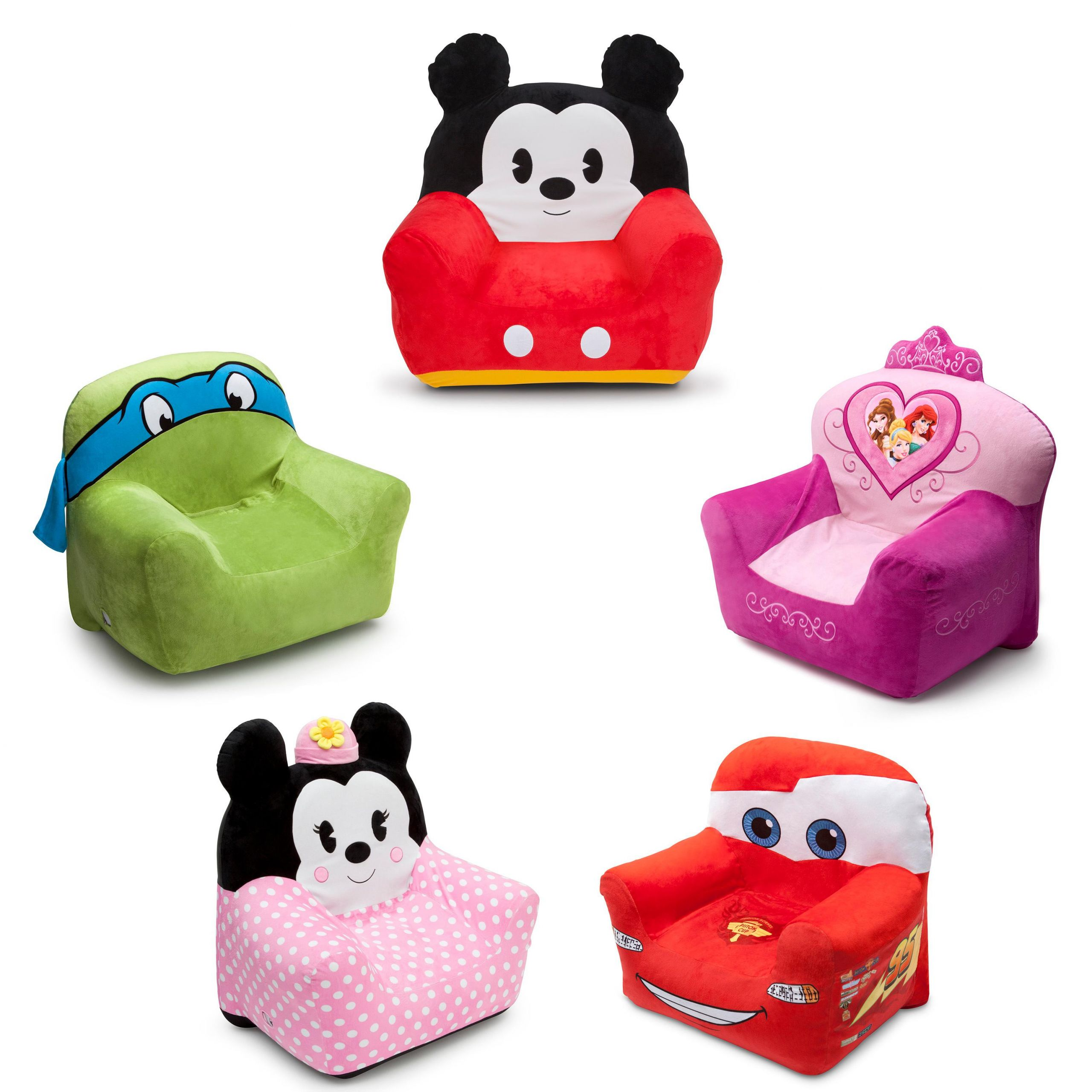 Kids Comfy Chair  Amazon Delta Children Club Chair Disney Mickey Mouse