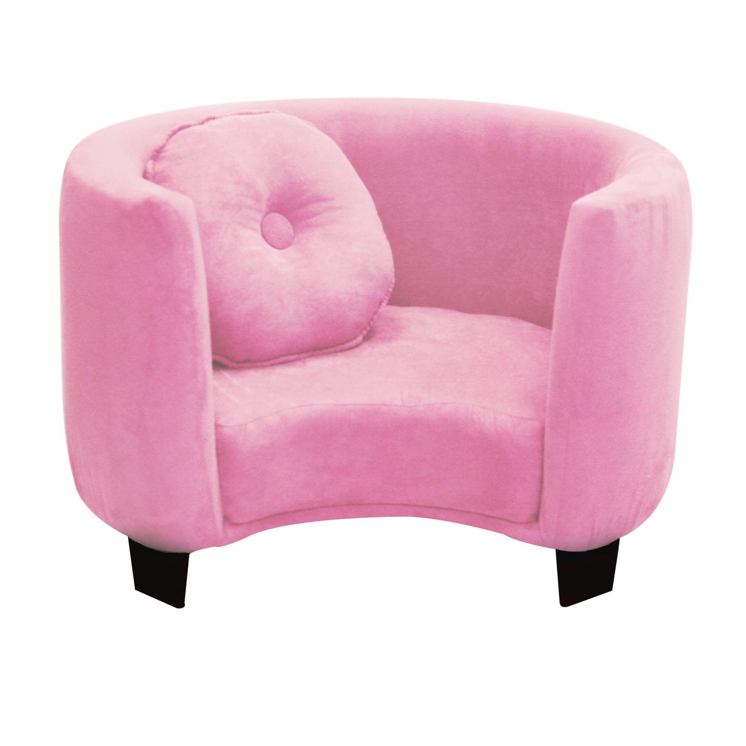 Kids Comfy Chair  Komfy Kings Kids fy Chair Pink Micro