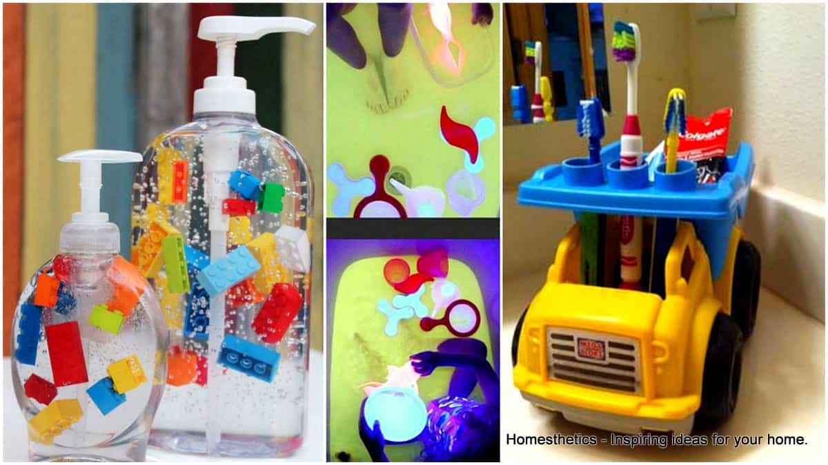 Kids DIY Projects  Easy to Do Fun Bathroom DIY Projects for Kids