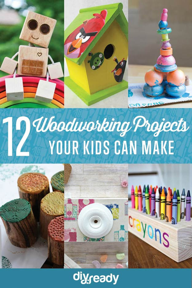 Kids DIY Projects  Easy Woodworking Projects for Kids to Make