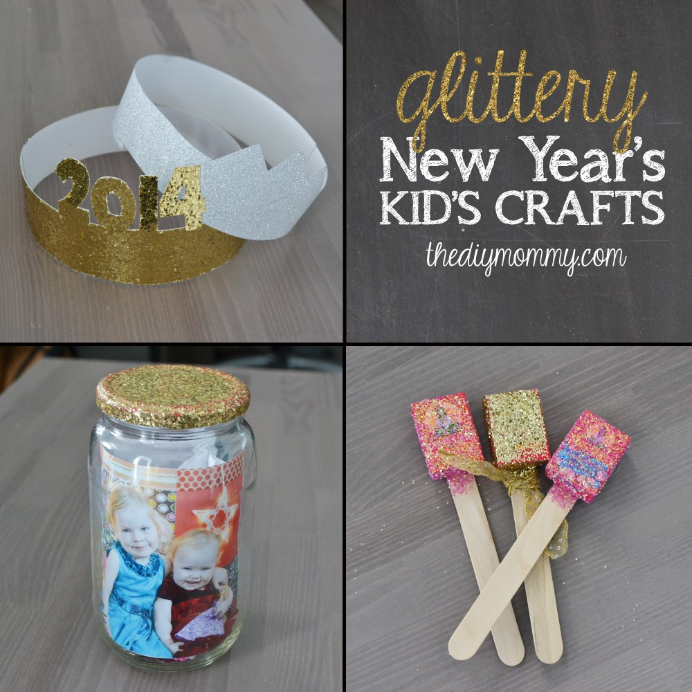 Kids DIY Projects  Make Glittery New Year s Kid s Crafts The News