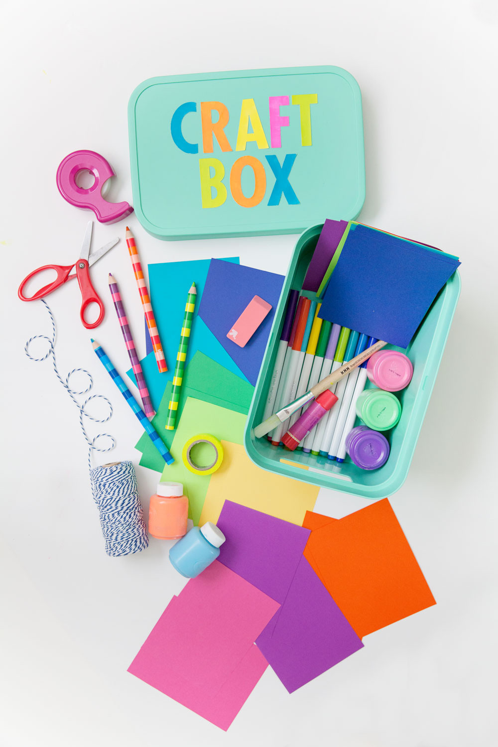 Kids DIY Projects  TIPS ON CRAFTING WITH KIDS A FUN DIY Tell Love and Party