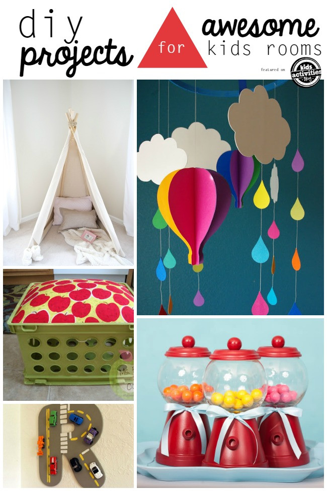 Kids DIY Projects  25 Creative DIY Projects For Kids Rooms