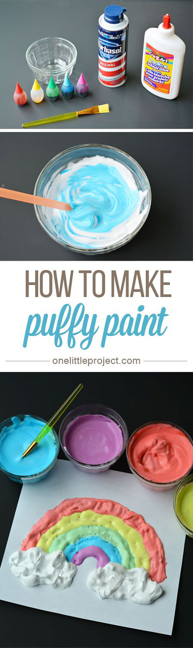 Kids DIY Projects  21 Easy DIY Paint Recipes Your Kids Will Go Crazy For