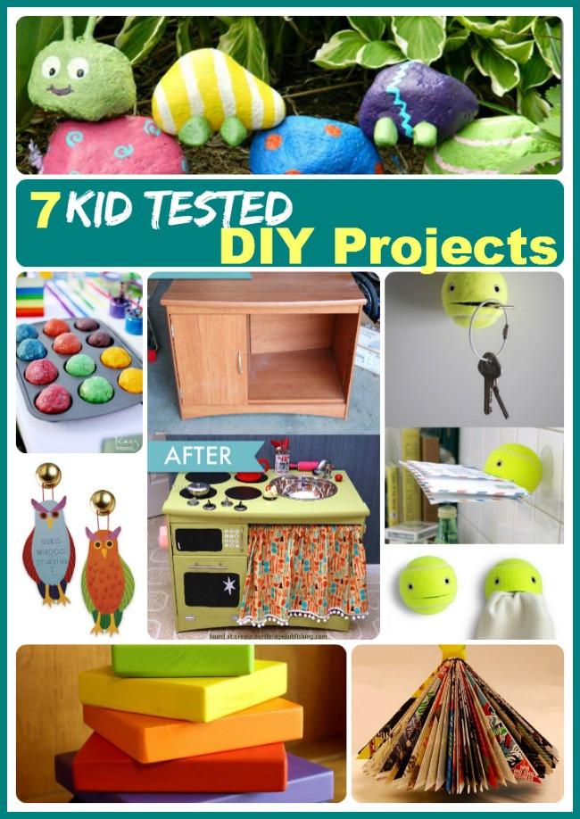 Kids DIY Projects  Kids Crafts Fun Crafts that Children Will Love DIY